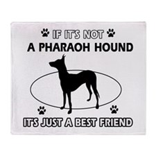 Pharaoh Hound designs Throw Blanket
