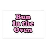 Bun In The Oven Postcards (Package of 8)