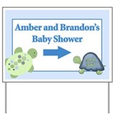 Amber and Brandon Yardsign Yard Sign