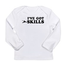 Kayak got skills designs Long Sleeve Infant T-Shir