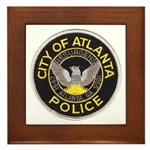 Atlanta Police Framed Tile