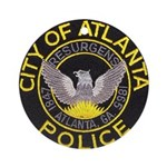 Atlanta Police Ornament (Round)