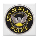 Atlanta Police Tile Coaster