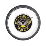 Atlanta Police Wall Clock