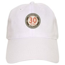 30th Birthday Vintage Baseball Cap
