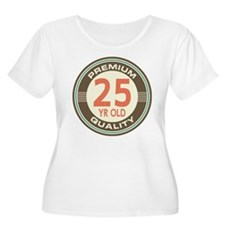 25th Birthday Vintage T-Shirt