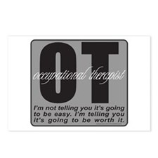 OT/Occupational Therapist Postcards (Package of 8)