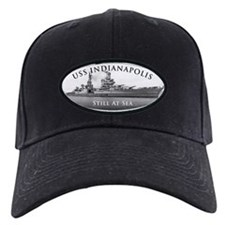 USS Indianapolis Battle Stars Baseball Hat