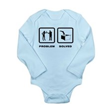 Dumpster Diving Long Sleeve Infant Bodysuit