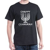 Chappy Chanukah Dark Shirt T-Shirt