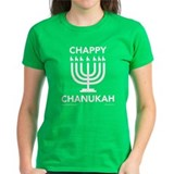 Chappy Chanukah Dark Shirt Tee