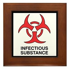"""Infectious"" Framed Tile"