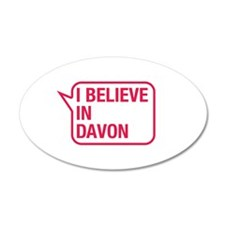 I Believe In Davon Wall Decal