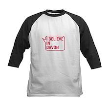 I Believe In Davon Baseball Jersey
