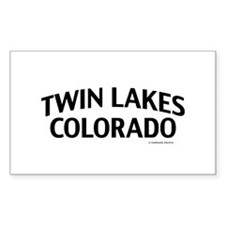 Twin Lakes Colorado Decal
