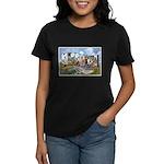 Missouri Greetings (Front) Women's Dark T-Shirt