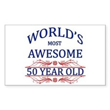 World's Most Awesome 50 Year Old Decal