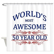 World's Most Awesome 50 Year Old Shower Curtain