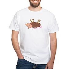 Funky Dead Possom Cartoon T-Shirt