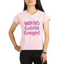Worlds Cutest Cowgirl Performance Dry T-Shirt