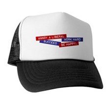 """Annoy a Liberal"" Trucker Hat"