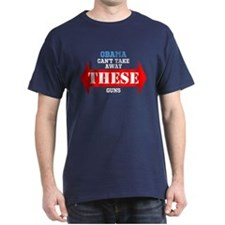 Obama cant take these guns T-Shirt