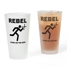 Running With Scissors Rebel Funny Drinking Glass