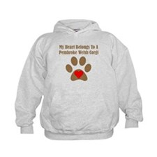 My Heart Belongs To A Pembroke Welsh Corgi Hoody