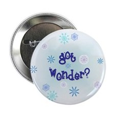 "'got wonder?' 2.25"" Button (10 pack)"