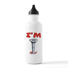 IM Screwed Screw Water Bottle
