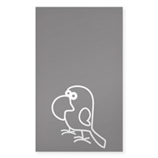 Parrot - other - white Decal