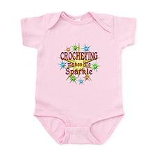 Crocheting Sparkles Infant Bodysuit