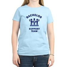 Bachelor Support Team (Stag Party / Blue) T-Shirt