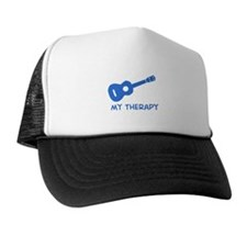 Ukelele my therapy Trucker Hat