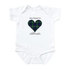 Heart - Abercrombie Infant Bodysuit