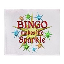 Bingo Sparkles Throw Blanket
