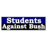 Students Against Bush Bumper Sticker