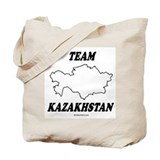 Team Kazakhstan Tote Bag