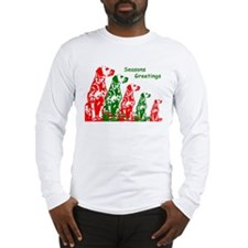 Cute Dog breed christmas Long Sleeve T-Shirt