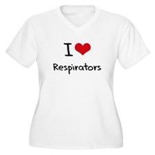 I Love Respirators Plus Size T-Shirt