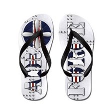 Harvest Moons Air Force Flip Flops