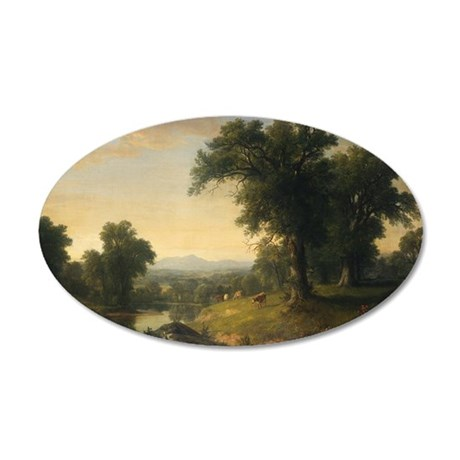Asher Brown Durand - A Pastoral Scene Wall Decal