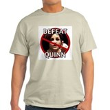 Defeat Quinn T-Shirt Front & Back Images
