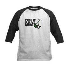 Push It Real Good Gold Baseball Jersey