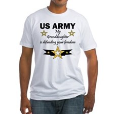 Army Granddaughter Defending Freedom Shirt