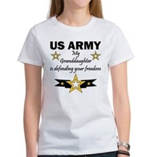 Army Granddaughter Defending Freedom Tee