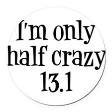 Unique Half marathon Round Car Magnet