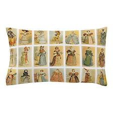 Vintage Paris Fashion Pillow Case