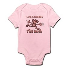 I Love Alessandro Infant Bodysuit