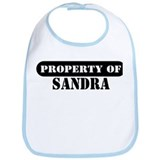 Property of Sandra Bib